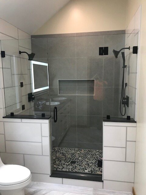 Broomhead Shower August 2020