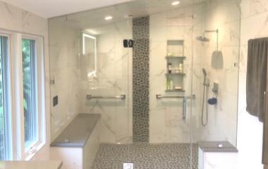 frameless custom glass shower plymouth glass