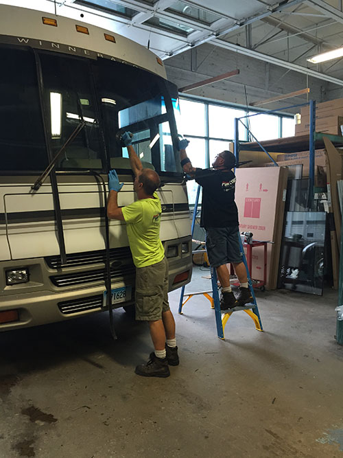 RV & motorhome glass replacement from Plymouth Glass