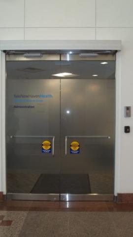 Custom GLass Doors Automatic
