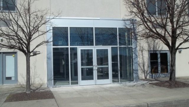 Commercial Glass Door Entrance
