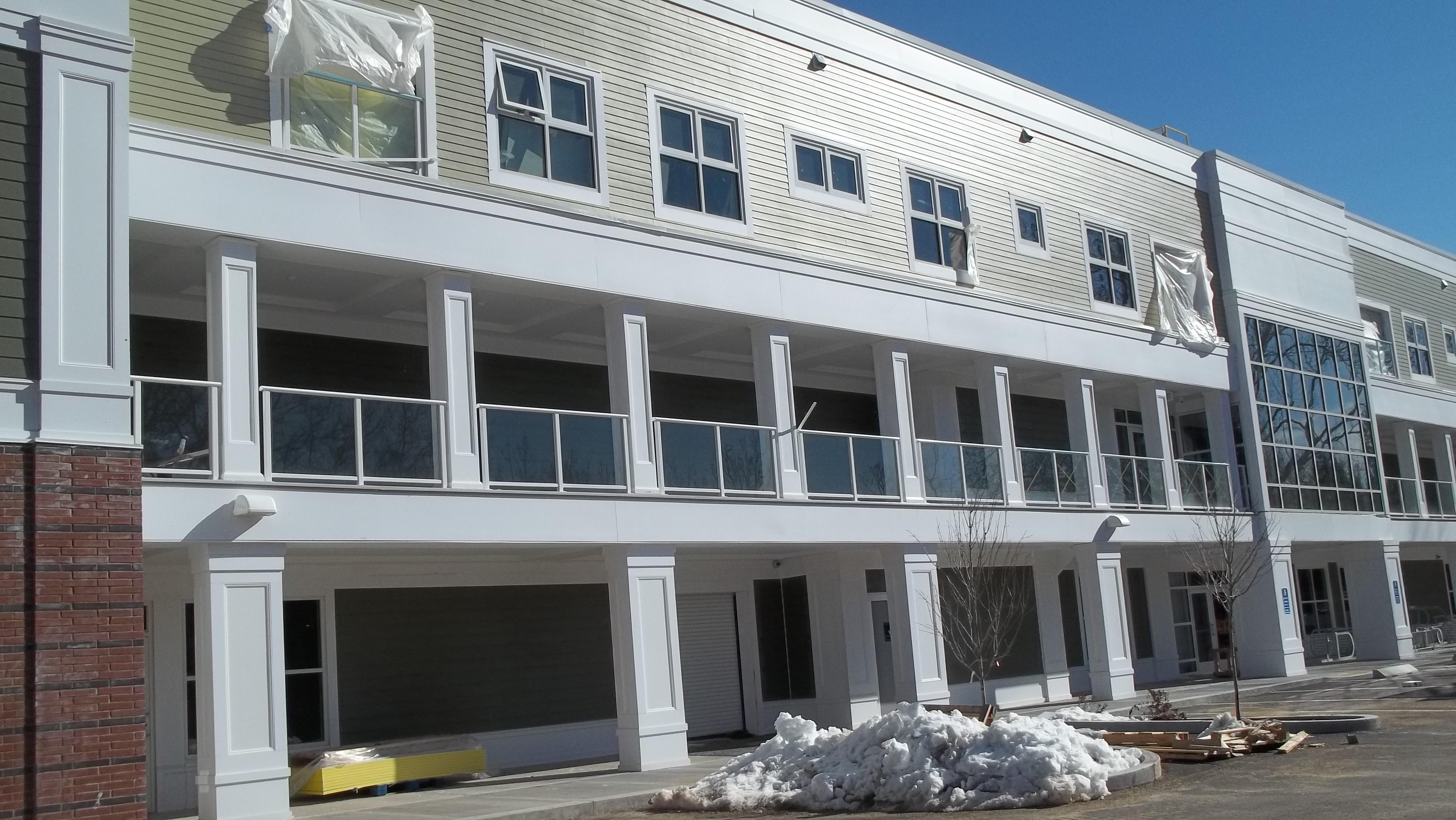 Residential Apartment Custom Commercial Glass windows