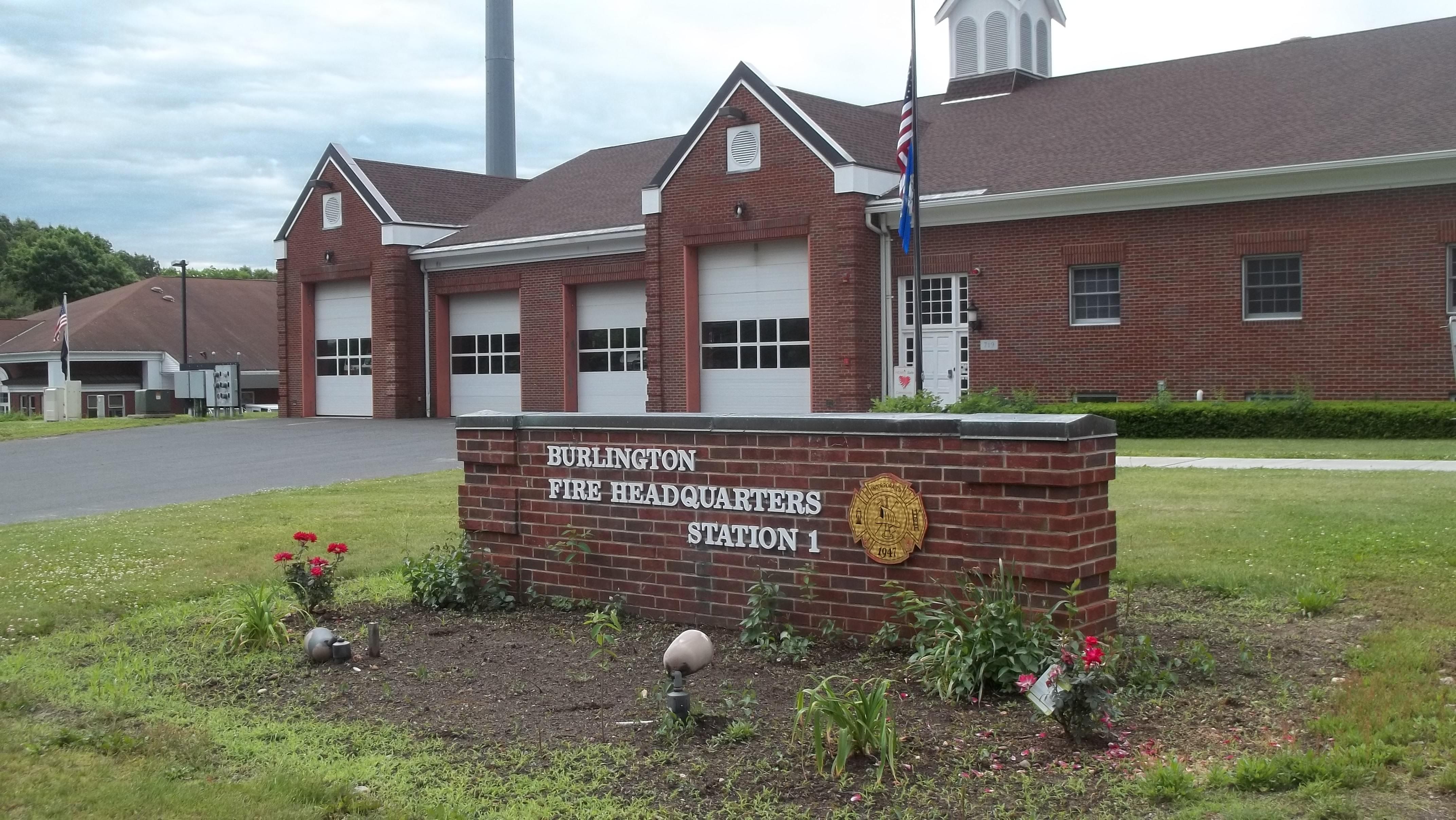 Burlington Fire Station Windows and Garage Doors
