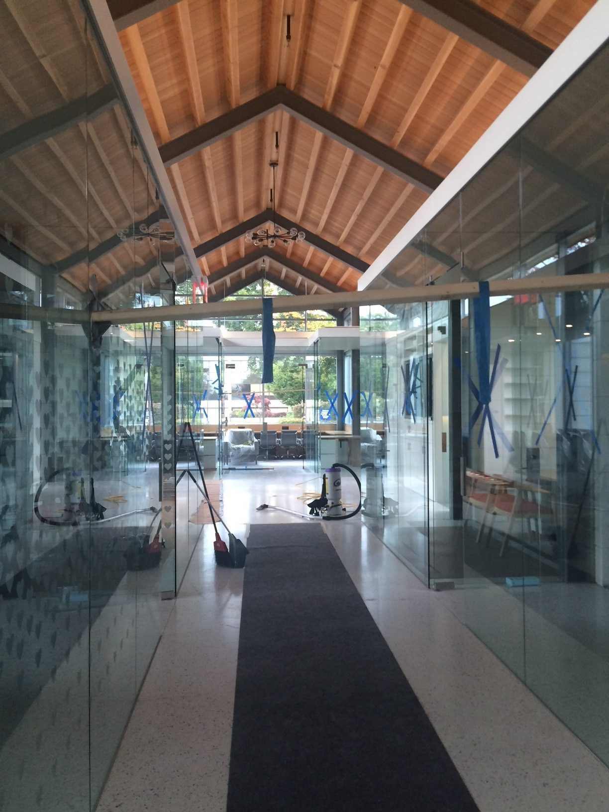 Glass Partition Offices