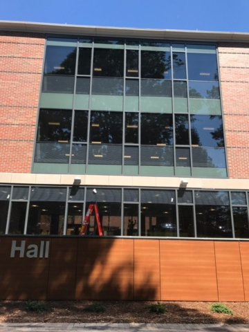 Litchfield Hall Custom Commercial Windows