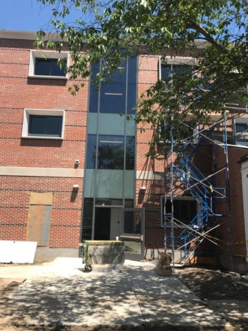 Litchfield Hall Custom Commercial Windows and ENtrance