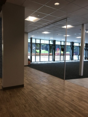 Glass Partition for Office or School Litchfield CT