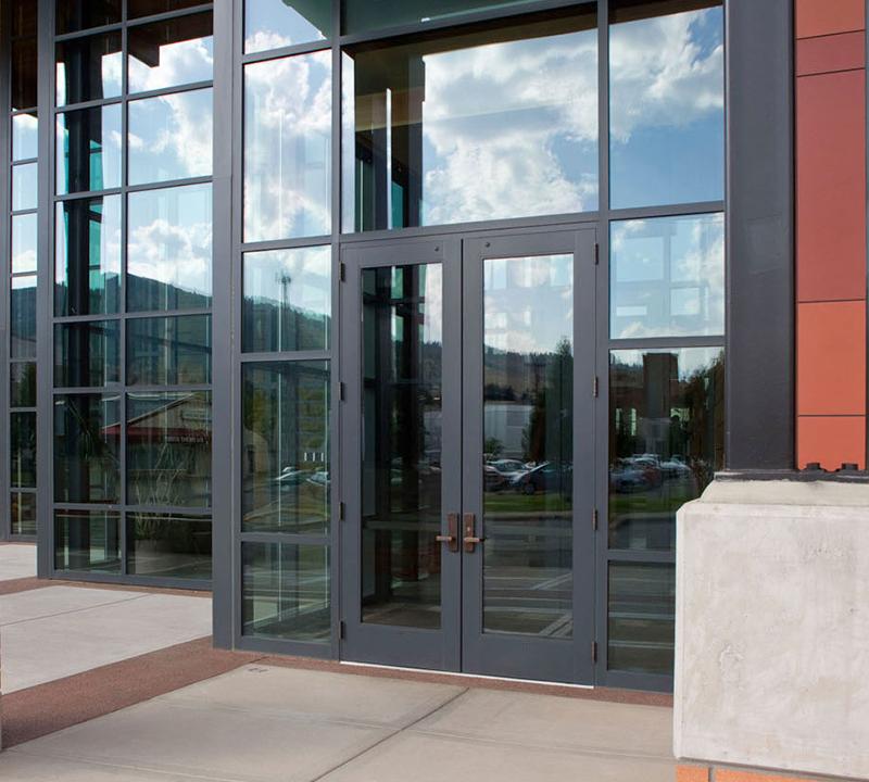 Plymouth Glass Custom Doors