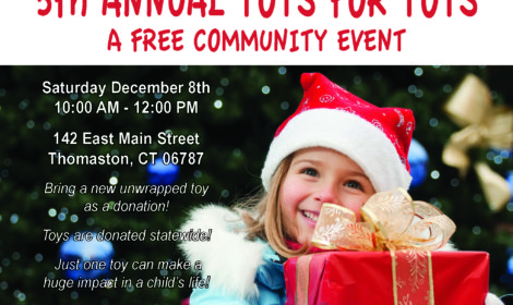 Free Toys For Tots Event! Dec 8, 2018 10am-12pm Pictures W/Santa, Gingerbread House Workshop, Food, Games, Goodies