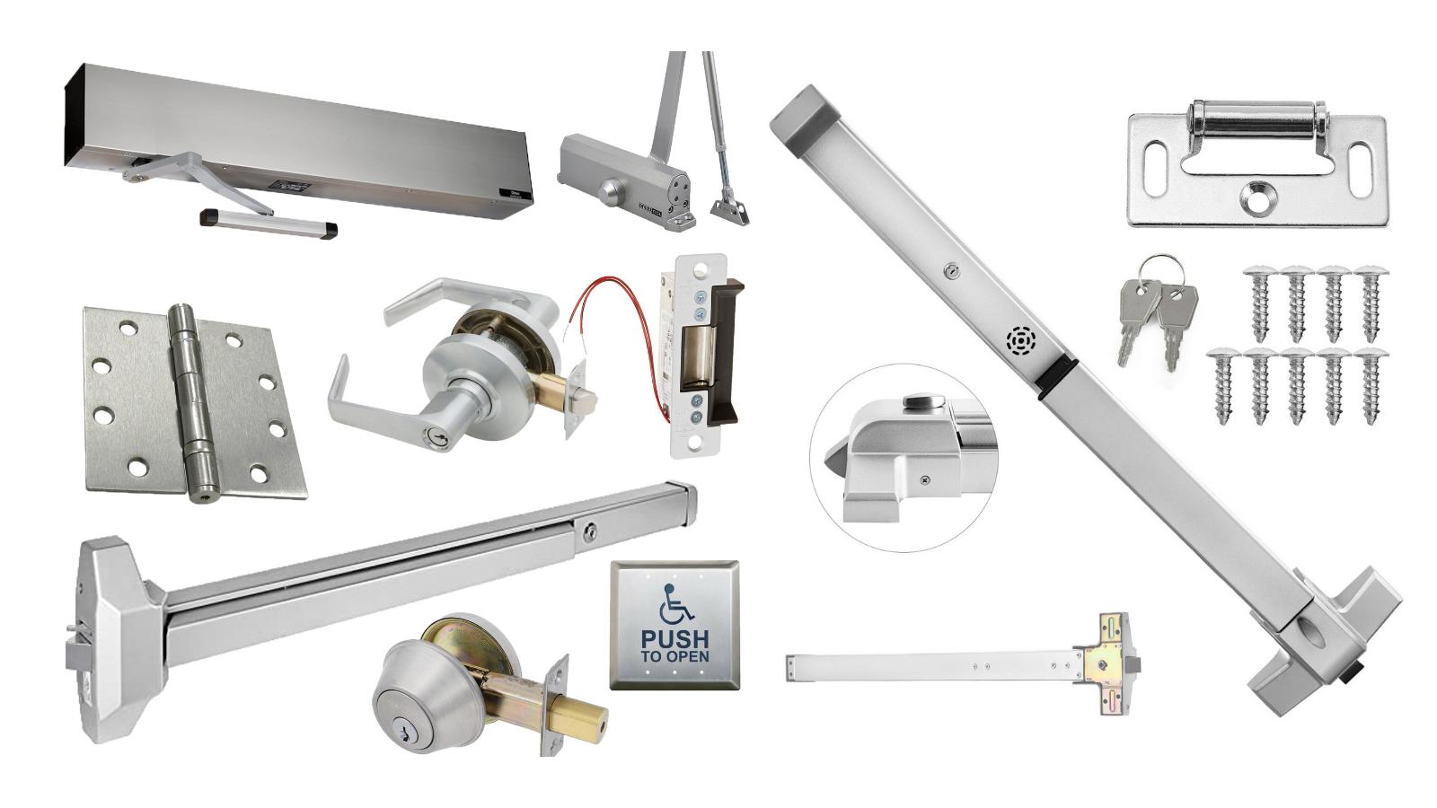 commercial door hardware options